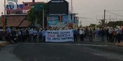 Pobladores de Santa María Colotepec piden respeto a sus límites territoriales