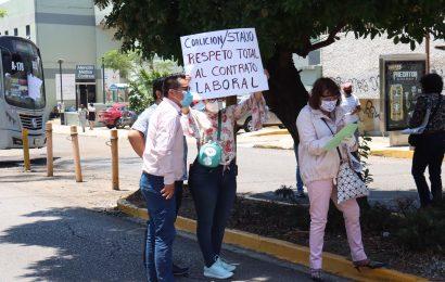 Bloqueo de STAUO en la JLCA; estallaría huelga este viernes