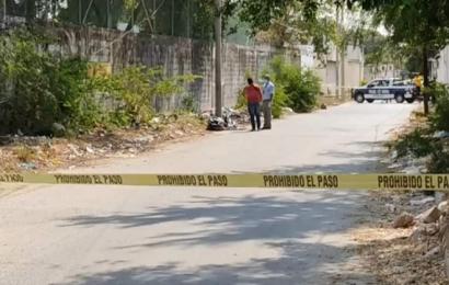 Localizan cadáver embolsado en Salina Cruz