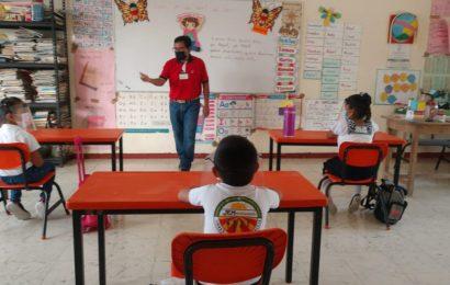 Alumnos de Campeche retoman clases presenciales