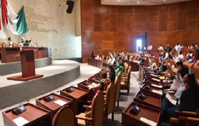Por falta de acuerdos, suspenden sesión en Congreso; hoy elegirían a magistrados del TSJO