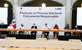 Firman pacto por proceso electoral responsable en Oaxaca