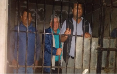 Encarcelan a autoridades de San Cristóbal Amatlán