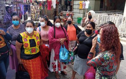 """Comerciantes de Juchitán piden reconstrucción del mercado """"Benito Juárez"""""""