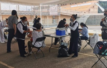 Culmina proceso de vacunación a los adultos mayores en la capital de Oaxaca