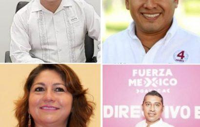 Bajan a Atecas y a Montaño como candidatos a presidentes municipales