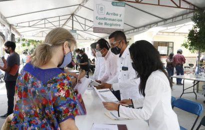 Activa participación de UABJO en vacunación contra Covid-19