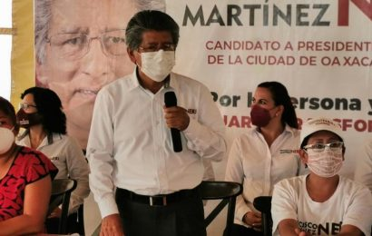 Martínez Neri afirma que no tolerará irregularidades de la actual administración municipal