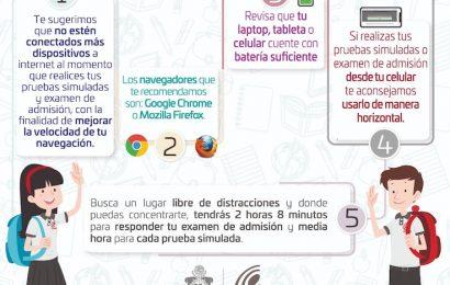 Realizará Colegio de Bachilleres de Oaxaca examen de admisión en línea