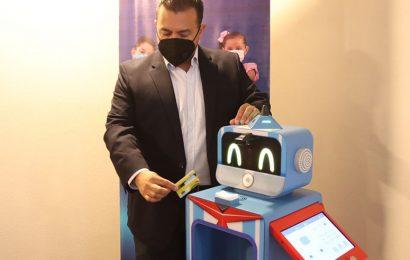 Presentan robot para detectar covid en alumnos de escuelas de Oaxaca