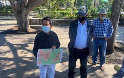 Pobladores de Albarradas condicionan apertura de Hierve el Agua, piden reforestación