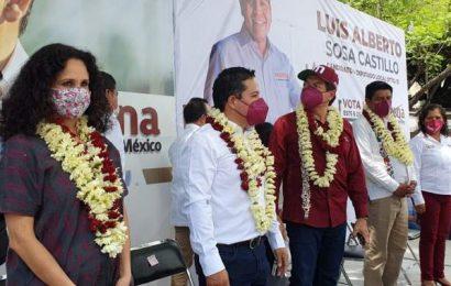 Asegura Mario Delgado que Juan Carlos García Márquez ganará en Santa Lucía del Camino.