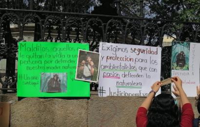 A un año de su asesinato, exigen justicia para el ambientalista Eugui Roy