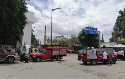 Sabotea Dante Montaño evento de Morena en Santa Lucía