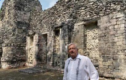 Tren Maya atraerá a millones de turistas a zonas arqueológicas: AMLO
