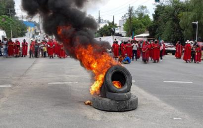 MULTI presiona al gobierno para garantizar seguridad en Copala
