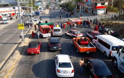 MULTI reactiva protestas en Oaxaca