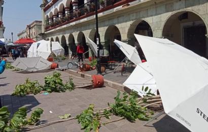 COPARMEX pide resarcir daños causados por normalistas