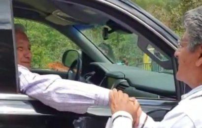 Misión cumplida, señor presidente, le dice Martínez Neri a López Obrador