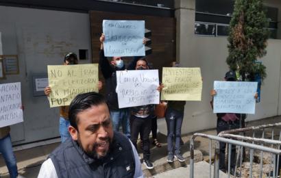 Pobladores de Miahuatlán toman el IEEPCO, denuncian robo de votos