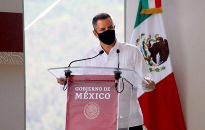 Carretera Mitla-Tehuantepec, con avance de 55%: Murat
