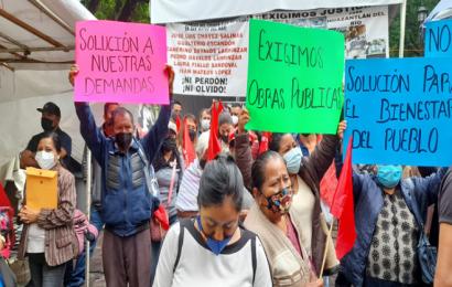 Tras elecciones, Antorcha Campesina retoma protestas