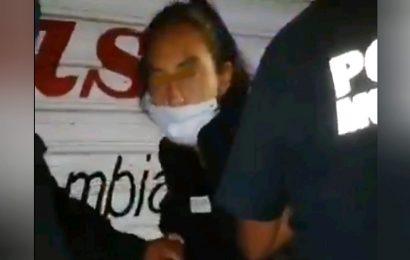 Ver para creer: policías detienen a policía ebria