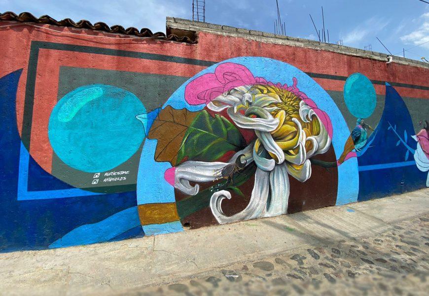 Crean mural para hacer conciencia a favor del medio ambiente