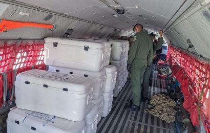 Llegan a Oaxaca 215 mil 200 dosis de vacuna anticovid; son AztraZeneca y CanSino