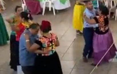 Aún con la tercera ola de contagios, en Juchitán no paran las fiestas