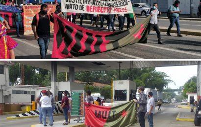 MULT se moviliza en Oaxaca, pide justicia