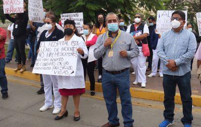 En tercera ola, Hospital Civil sin insumos ni medicamentos