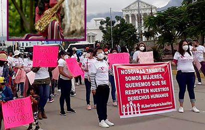 Marcha de ayer busca incitar odio contra mí: María Elena Ríos