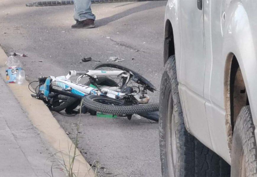 El segundo ciclista atropellado en Mitla también murió