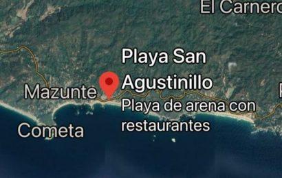 Mueren 2 estudiantes de la UNAM al ser arrastrados por el mar en Oaxaca