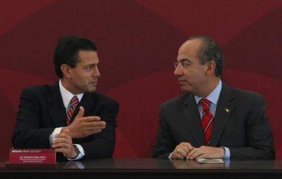 Con Calderón y Peña, 75% del alza en la deuda en una década