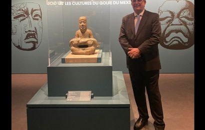 México y Francia firman convenio de protección de bienes culturales