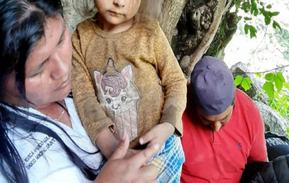 En una cueva, localizan a menor desaparecida en Itundujia