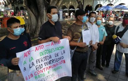 """Protestan contra obra de 5 Señores; ambientalistas la califican de """"ecocidio"""""""