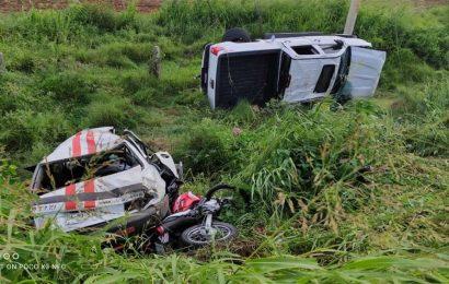 Taxista y pasajeros, los 4 muertos por choque en Santo Domingo Ingenio