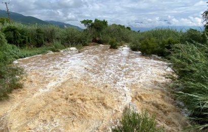 Temen que se desborde el río Salado en zona metropolitana de Oaxaca