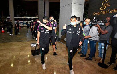 Arriba Selección Mexicana a Panamá