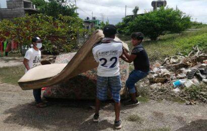 Reportan 2,500 personas damnificadas en La Ventosa por las lluvias