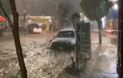 Lluvias dejan inundaciones en Oaxaca