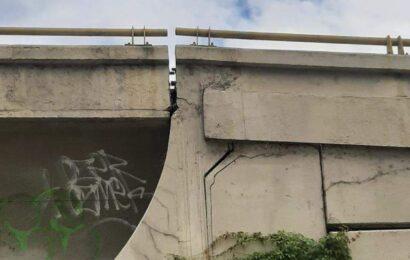 Alertan sobre riesgos en puente a desnivel que construyó Gabino Cué