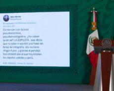 «Ofende a Beatriz y me ofende a mi»; AMLO truena por tuit de científico sobre caso Conacyt