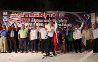 """Sección 22 dará """"Anti Grito"""" en Oaxaca"""