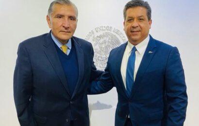 Se reúne García Cabeza de Vaca con el secretario de Gobernación