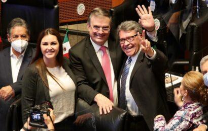 Voz de México cuenta y se respeta a nivel internacional: Ebrard