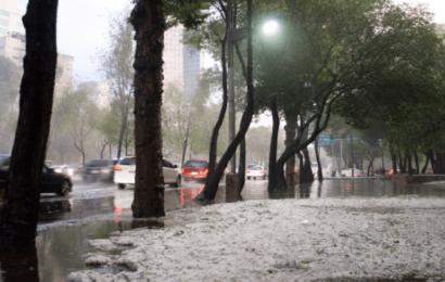 Fuertes lluvias con descargas eléctricas en al menos 9 entidades